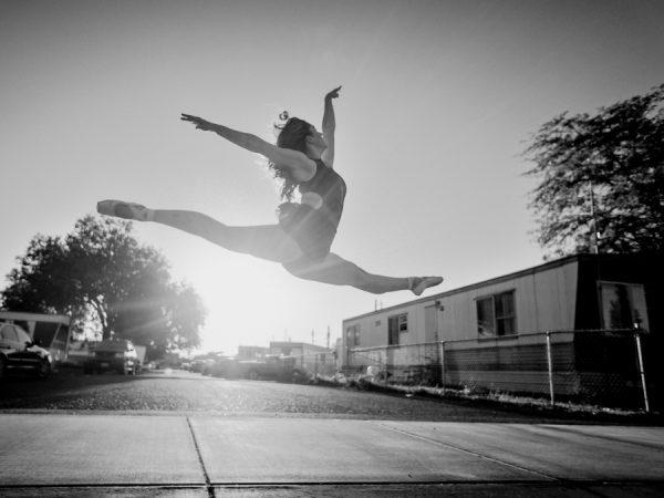 Danse saut rue