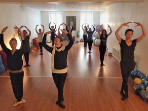 Groupe dance studio du paquier