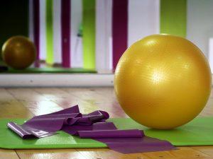 Pilates ballon tapis