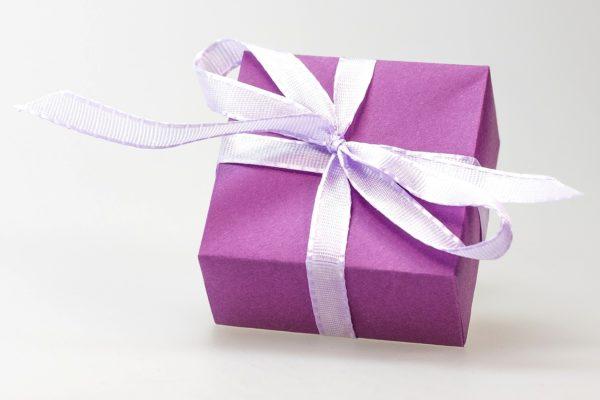 Cadeau violet